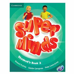 Super Minds 3 SB WB CD DVD  Glossy Papers