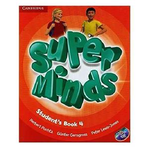 Super Minds 4 SB WB CD DVD   Glossy Papers