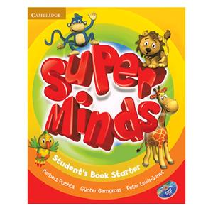 Super Minds Starter SB WB CD DVD   Glossy Papers