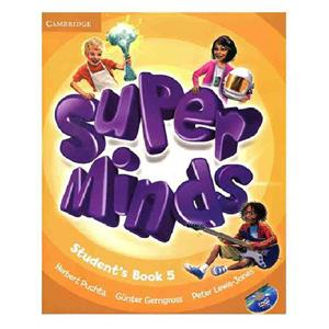 Super Minds 5 SB WB CD DVD   Glossy Papers