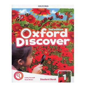 Oxford Discover 1 2nd  SB WB DVD
