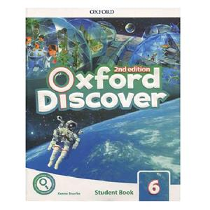 Oxford Discover 6 2nd   SB WB DVD