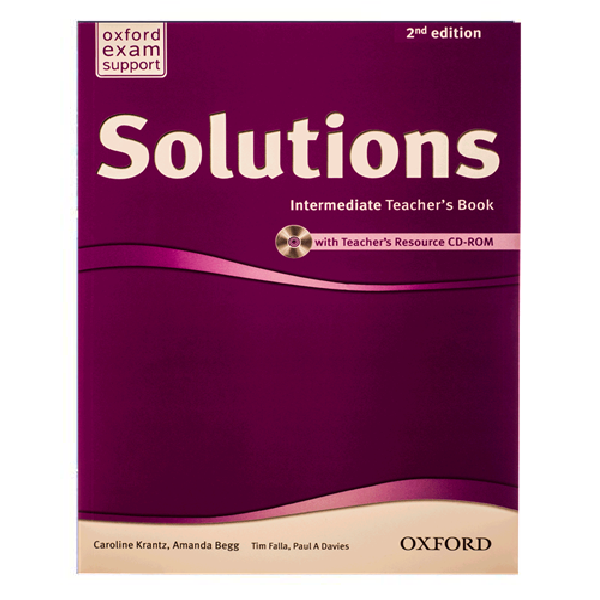 Solutions Intermediate Teachers Book 2nd